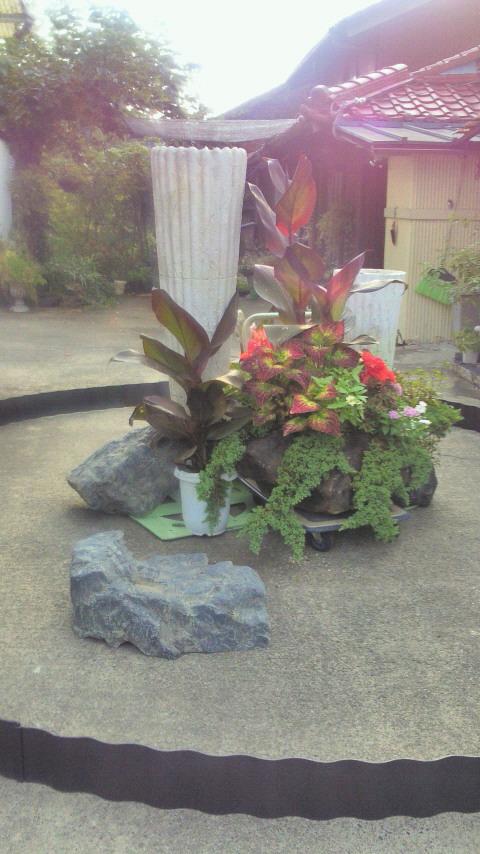 ガーデンディスプレイのシュミレーション